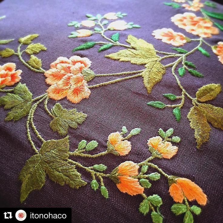 @itonohaco #bordado #embroidery #ricamo #broderie #handembroidery #needlework
