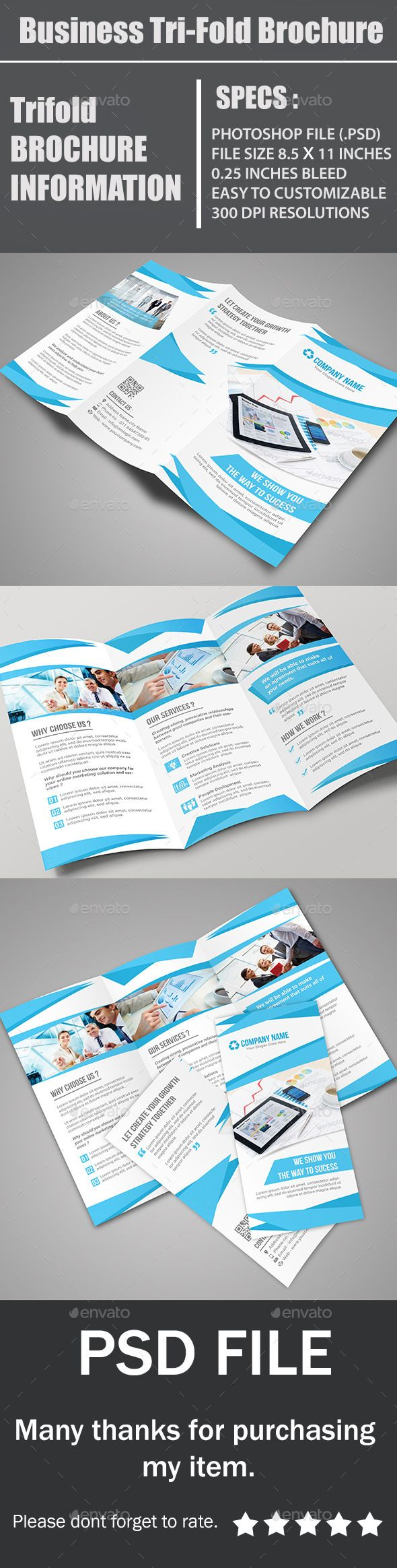 best images about flyers ideas food bank simple business tri fold brochure