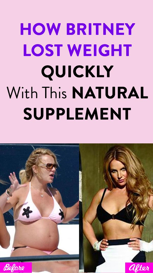 How Britney Lost Weight Quickly With This Natural Supplement