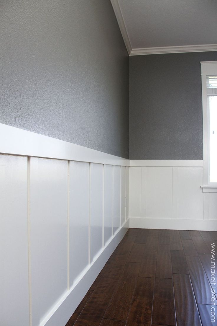 Di diy wainscoting dining room - Home Improvement Diy Board And Batten Make It And Love It