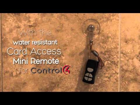 Shower Music Control In #Control4 Systems With Card Access | Control4  Partners | Pinterest