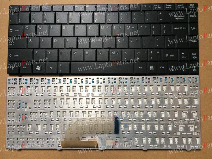 New US keyboard for MSI X-slim X300 X320 X340 X400 Tastatur Medion Akoya Mini E1312 E1313 black laptop keyboard