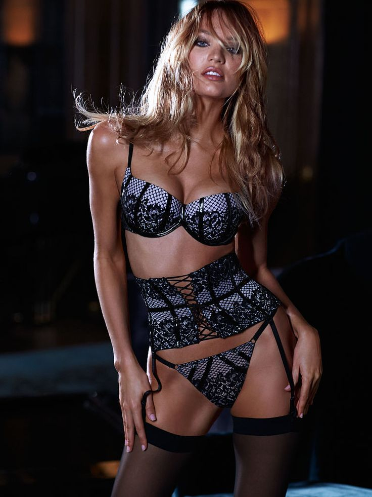 Lace. Garters. Corsets. Just a few of our favorite things. | Victoria's Secret Scandalous Push-Up Bra