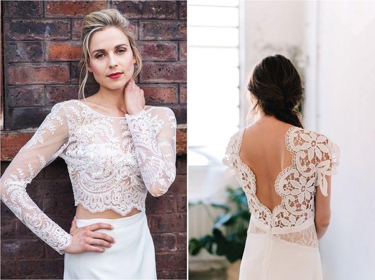 10 robes de mariée avec de la jolie dentelle pour la mariée à découvrir sur le blog