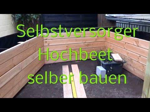 Hochbeet selber bauen - Garten anlegen - DIY Holz Hochbeet - Anleitung vom Bau-It-Yourself Team - YouTube