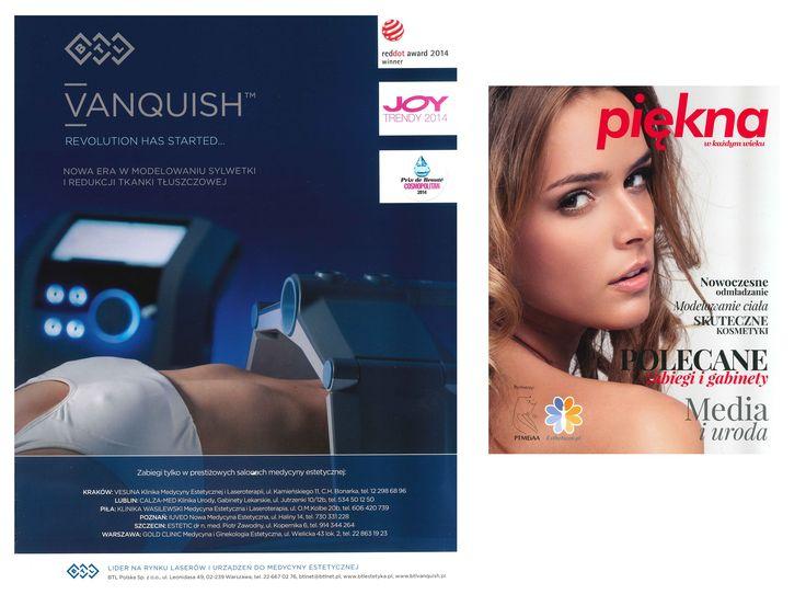 VANQUISH – Revolution has started ...  Nowa era w modelowaniu sylwetki i redukcji tkanki tłuszczowej!  Więcej informacji na naszej stronie: www.estetic.pl