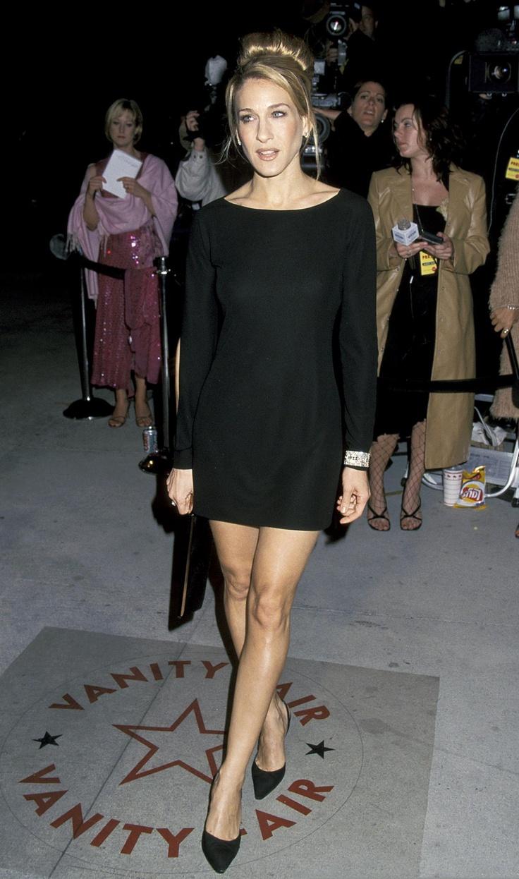 Sarah Jessica Parker - 2001 Vanity Fair Oscar Party