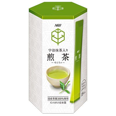 AGF 宇治抹茶入り煎茶 - 食@新製品 - 『新製品』から食の今と明日を見る!
