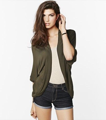 Wrap yourself in this light kimono overpiece on cooler summer days!