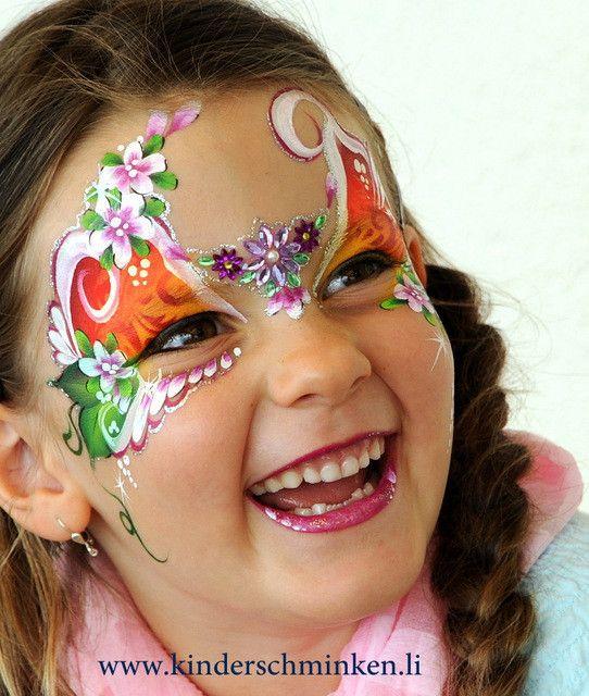 Kinderschminken, Kinderschminken Vorlagen, Schminkfarben kaufen, Kinderschminken Kurse, Schminkfarben Schweiz, www.kinderschminken.li, Svetlana Keller, face painting