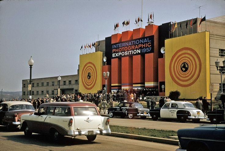 Америка 50-х в цвете - История и современность
