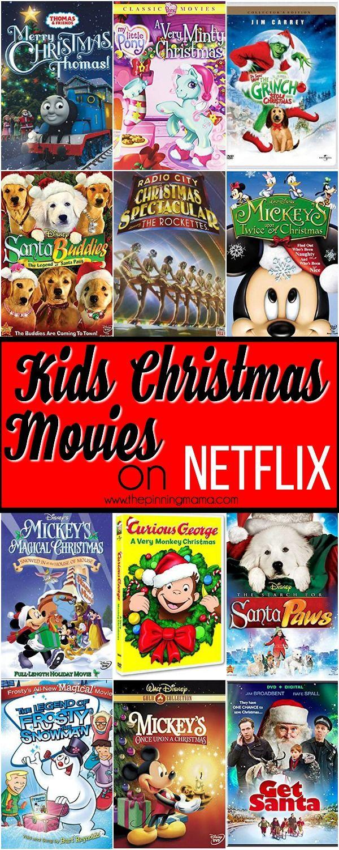 Ultimate List Of Christmas Movies On Netflix For Kids Kids Christmas Movies Christmas Movies Christmas Movies List