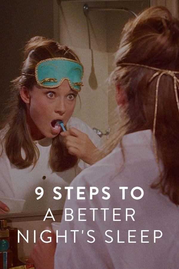 9 Steps to a Better Night's Sleep via @PureWow