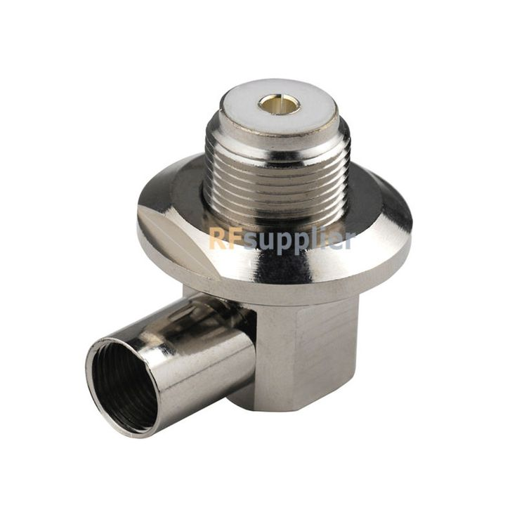5PCS UHF/SO239 Right Angle Female Solder SO239 RF Connector for Cable LMR400 RG8