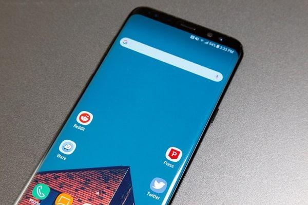 Galaxy S8 Plus Oreo