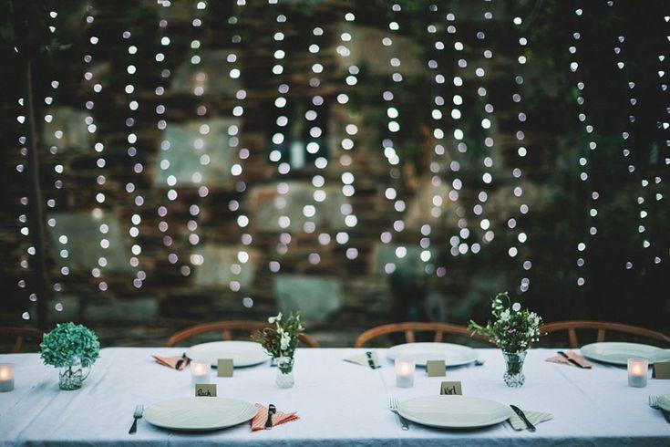 simple table setting, boyd baker house - photo by lakshal perera