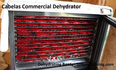Cabelas Commercial Food Dehydrator Review