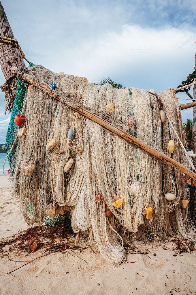 Fishing nets by OSORIOartist on @creativemarket