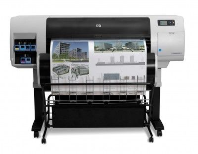 Hp Designjet T7100 1067mm Ozalit Makinesi - Hp Plotter