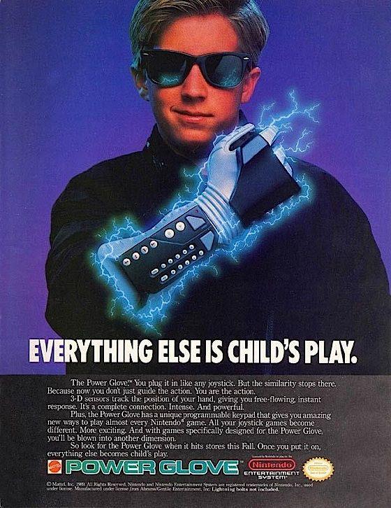 """I love the Power Glove . . . it's so bad"""