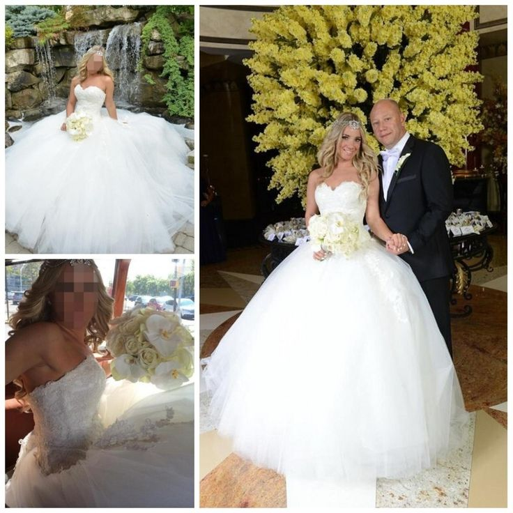 ==> [Free Shipping] Buy Best Pnina Tornai robe de mariage Actual Sweetheart Ivory Wedding Dresses Appliques Sexy Long Tulle Custom Bridal Lace up Ball Gown Online with LOWEST Price | 32362570730