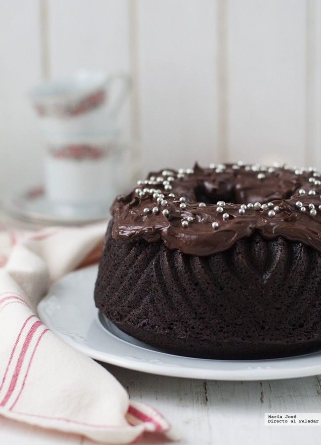 Bundt cake de doble chocolate. Receta de Martha Stewart