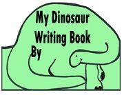 Dinosaur Writing Shape Book