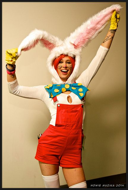 Cute Roger Rabbit at 2014 SDCC, pic by Howie Muzika