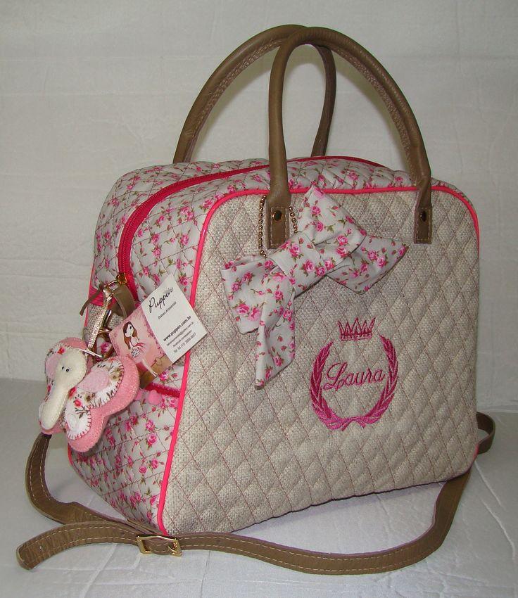 Bolsa Personalizada Laura www.puppen.com.br