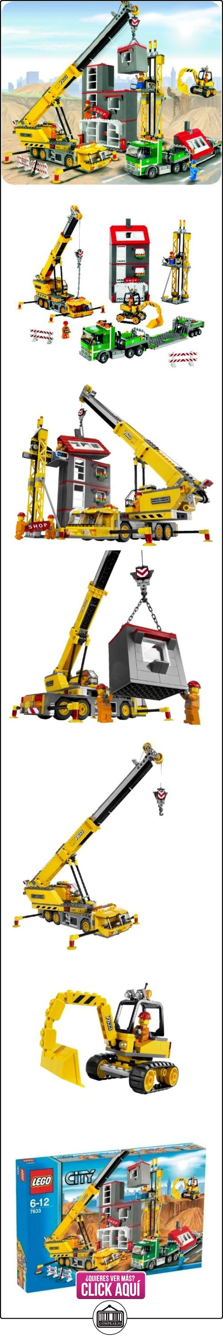 LEGO CITY 7633 Lugar de obras  ✿ Lego - el surtido más amplio ✿ ▬► Ver oferta: https://comprar.io/goto/B001CQSZNA