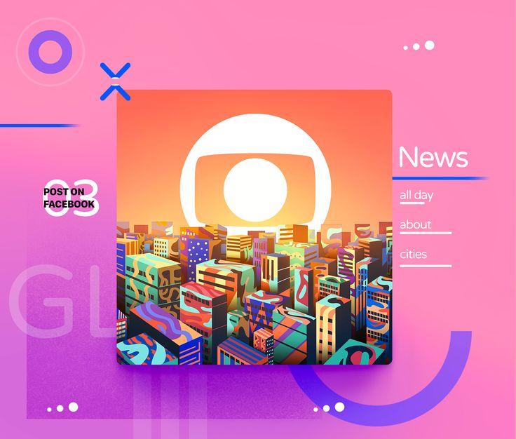 Rede Globo on Facebook on Behance