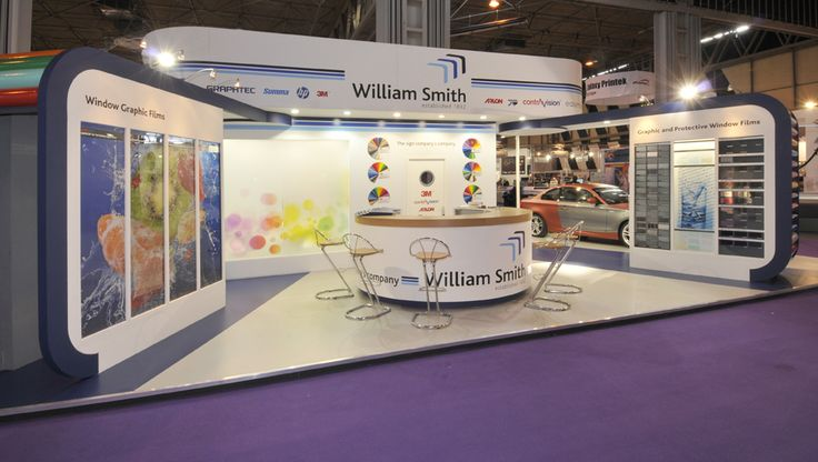 William Smith exhibition stand at Sign and Digital, NEC, Birmingham.