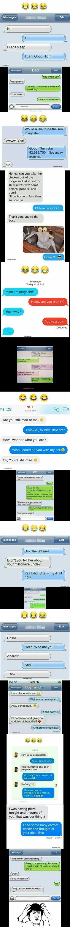 Top 10 Funniest Texts On Internet