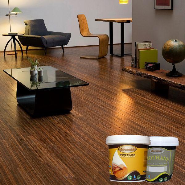 lantai-kayu-kelapa #biovarnish #bioindustries #kayukelapa #coconutwood #wooden #woodworking #finishingnatural #woodstain #kayu #catkayu ##naturalfinishing