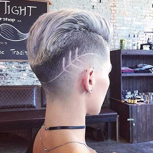 22-Short Hairstyle for Girls