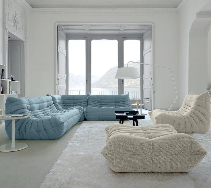 Togo, Upholstery Designer : Michel Ducaroy | Ligne Roset