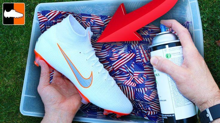 How to hydro dip flag custom boots soccer gear