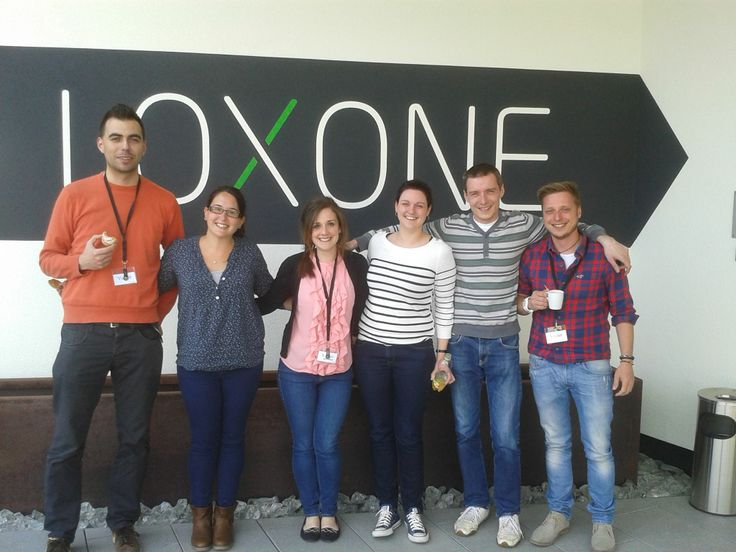 The good looking faces of Loxone's marketers from Slovakia, Spain, the UK, France, Czech Republic and Switzerland!