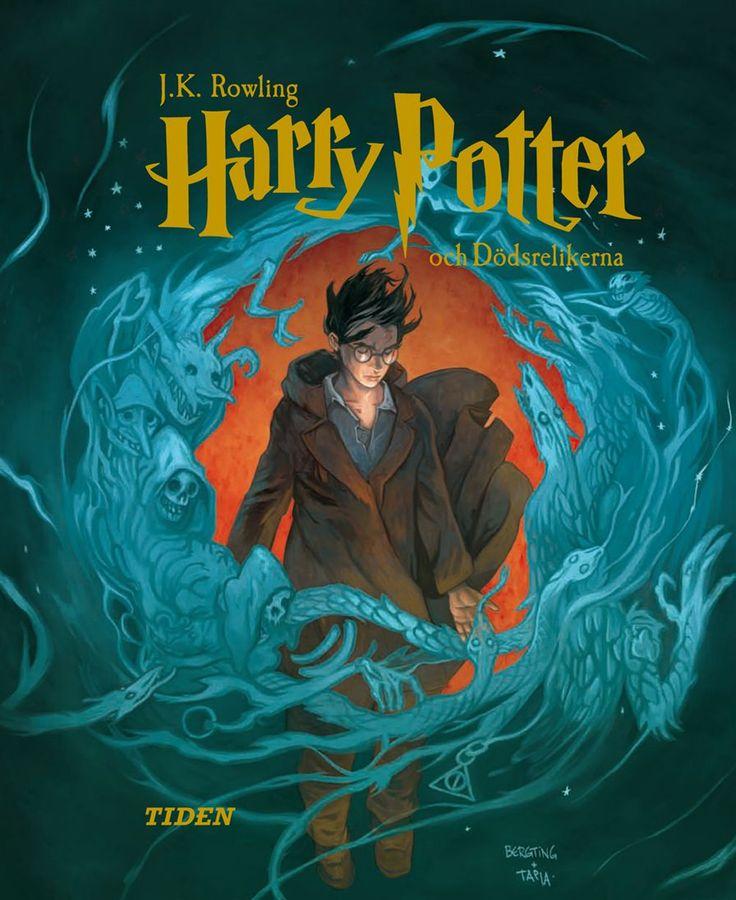 Alvaro Tapia : Swedish Harry Potter Covers