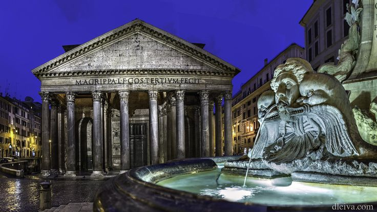 Pantheon (Rome, Italy) by Domingo Leiva on 500px