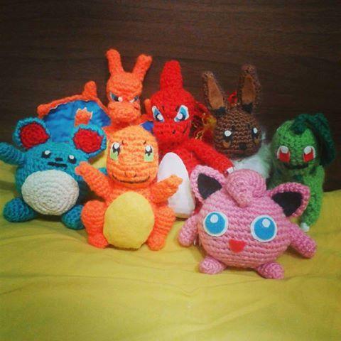 Pokémon a crochet