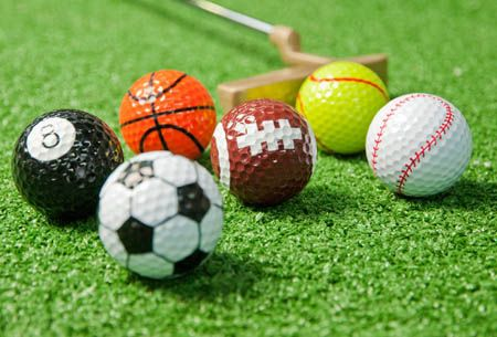 Novelty Sports Golf Balls                                                                                                                                                      More
