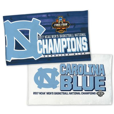 WinCraft North Carolina Tar Heels 2017 NCAA Men's Basketball National Champions 2-Sided Official On Court Locker Room Towel