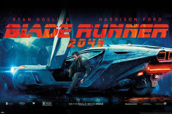 Canvas Blade Runner 2049 Movie Art Print Poster