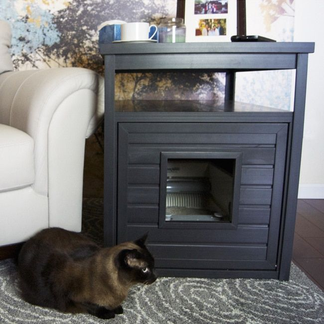 ecoFLEX Jumbo Litter Loo Hidden Kitty Litter Box End Table | Overstock.com Shopping - The Best Deals on Litter Boxes