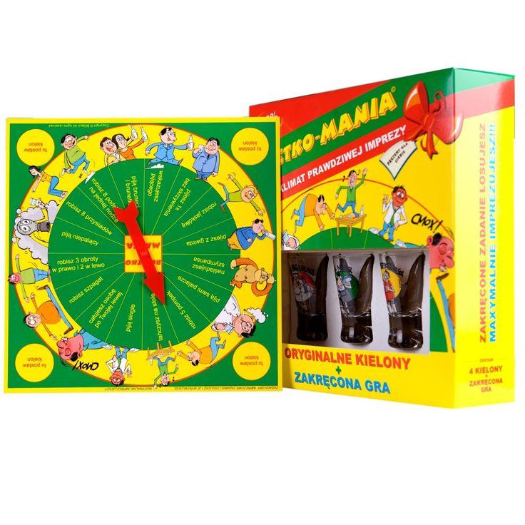 """Ruletko Mania"" Polish Drinking Board Game"