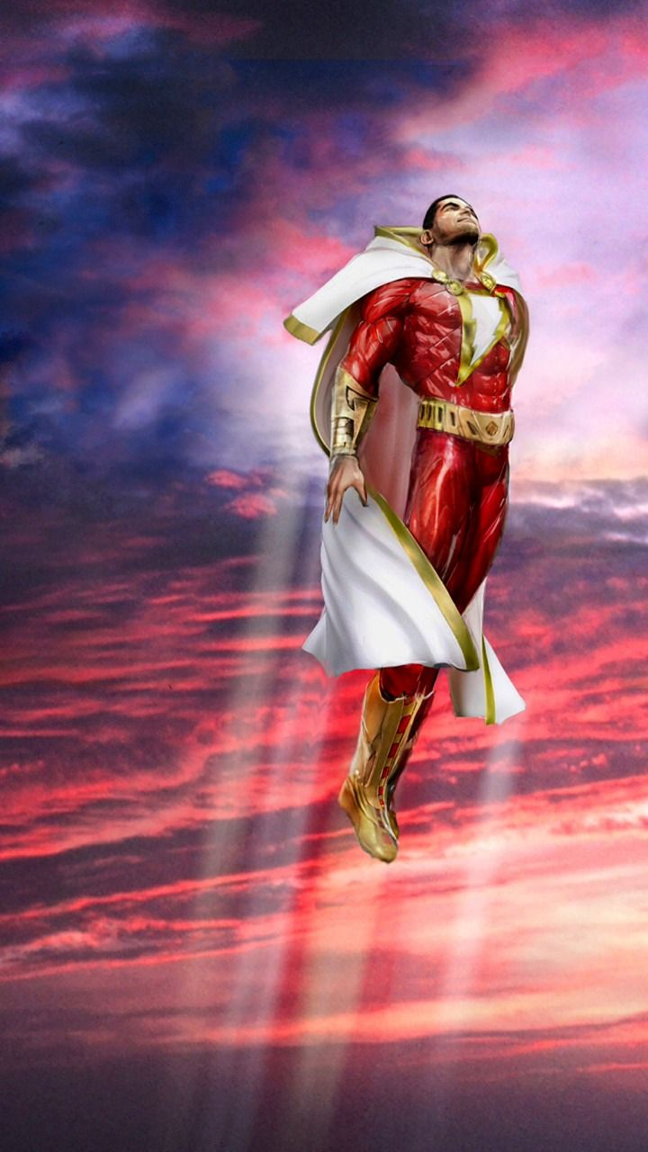 Shazam Captain Marvel By John Gallagher