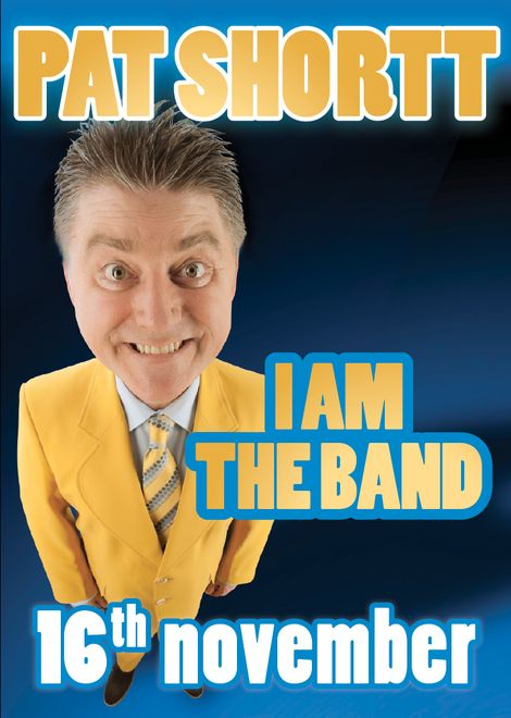 "INEC Acts from #2013 | Pat Shortt ""I Am Band - INEC Killarney January 25th & November 16th 2013 inec.ie #happynewyear"