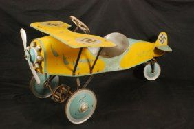 WWII German Airplane Pedal Car