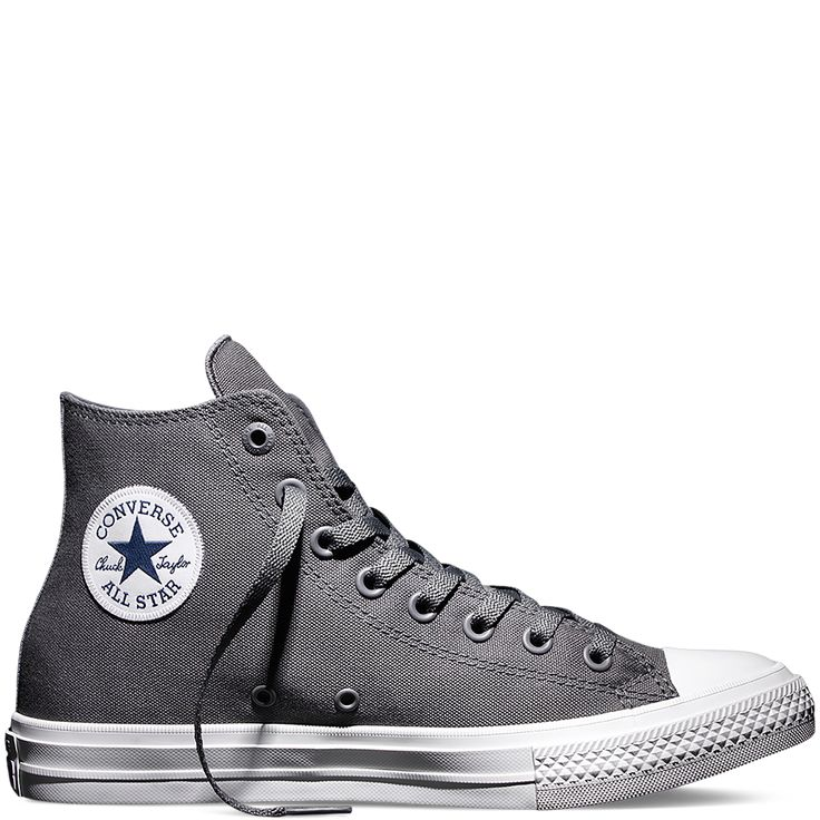 Converse Chuck Taylor All Star II in Thunder/White/Navy, size 6 – $75
